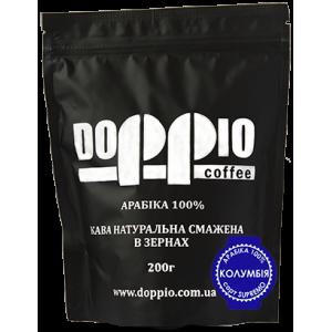Кофе в зернах Doppio Колумбия Supremo 200г