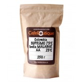 Кофе в зернах CafeBoutique Colombia Supremo EP + India Malabar AA 250 г