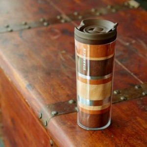 Термокружка Starbucks Acrylic Tumbler with Natural Wood