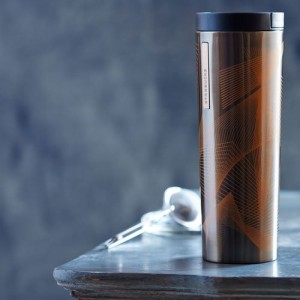 Термокружка Starbucks Stainless Steel Line Waves Tumbler