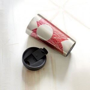 Термокружка Starbucks Tumbler - Pink Leaves