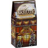 """Чай черный Basilur """"Рождественский домик CHRISTMAS HOUSE"""" 100г картон"""