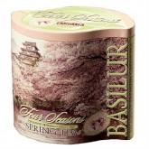 Чай зеленый листовой Basilur Четыре сезона Весенний ж/б 125 г