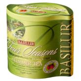 Чай зеленый листовой Basilur четыре сезона Летний ж/б 100г