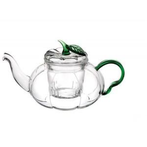 Чайник стеклянный Тыква 600 мл