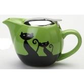 Чайник керамический Коты 500 мл