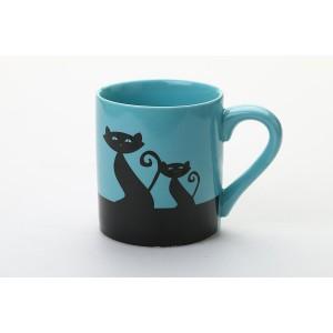 Чашка керамическая Кот 300 мл