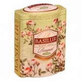Чай зелёный листовой Basilur Букет Белое Волшебство ж/б 100г