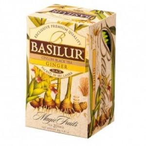 Чай черный пакетированный Basilur Волшебные фрукты Имбирь 20пак.*2г