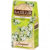 Чай зелёный листовой Basilur Букет Жасмин картон 100 г