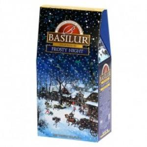 Чай чёрный листовой Basilur Подарочная коллекция Морозная ночь картон 100г