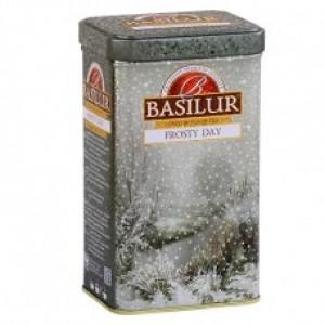 Чай чёрный листовой Basilur Подарочная коллекция Морозный день ж/б 100г