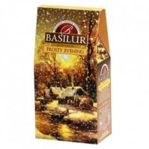 Чай чёрный листовой Basilur Подарочная коллекция Морозный вечер картон 100г