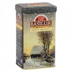 Чай чёрный листовой Basilur Подарочная коллекция Морозное утро ж/б 100г