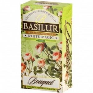 Чай зелёный листовой Basilur Букет Белое волшебство пакетированный (25 х 1,5 г) 37,5 г