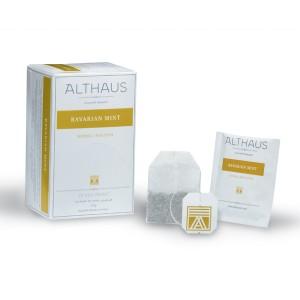 Чай зелёный пакетированный Althaus DP Bavarian Mint (20шт*2г)