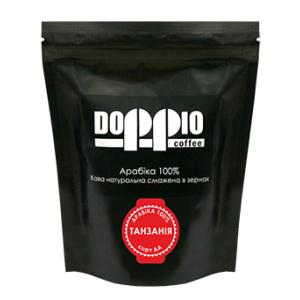 Кофе в зернах Doppio Танзания АА 200г