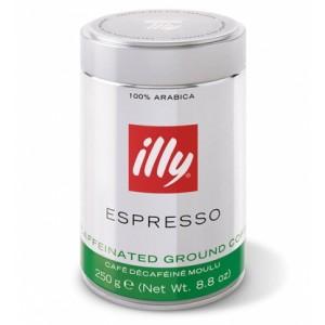 Кофе молотый Illy Espresso без кофеина 250г