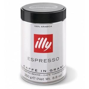 Кофе в зернах Illy Espresso темная обжарка 250г