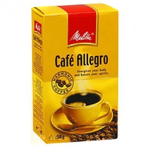 Кофе молотый Melitta Cafe Allegro 250г