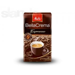 Кофе молотый Melitta BellaCrema Espresso 100% Arabica 250г