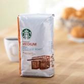 Кофе в зернах Starbucks Medium Decaf Pike Place 500г