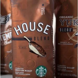 Кофе в зернах Starbucks House Blend 500г