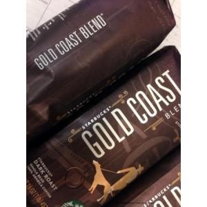 Кофе в зернах Starbucks Gold Coast Blend 500г