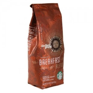 Кофе в зернах Starbucks Breakfast Blend 500г