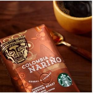 Кофе в зернах Starbucks Colombia Supremo 500г