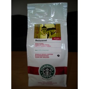 Кофе в зернах Starbucks Sulawesi 500г