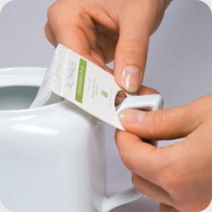 Чай зелёный пакетированный Althaus GP Gunpowder Zhu Cha (20шт*4г)