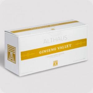 Чай травяной пакетированный Althaus GP Ginseng Valley (20шт*4г)