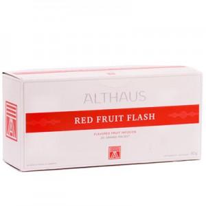 Чай фруктовый пакетированный Althaus GP Red Fruit Flash (20шт*4г)