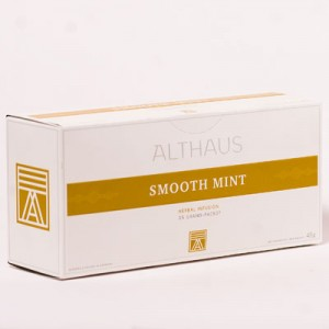 Чай травяной пакетированный Althaus GP Smooth Mint (15шт*3,5г)