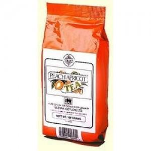 Чай черный листовой Mlesna Персик-абрикос 100г