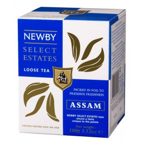 Чай черный листовой Newby Ассам 100г