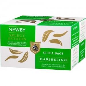 Чай черный пакетированный Newby Дарджилинг 25х2,5г