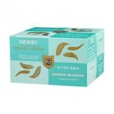Чай зеленый пакетированный Newby Цветок Жасмина 25х2,5г