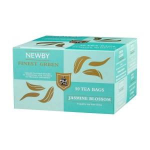 Чай зеленый пакетированный Newby Цветок Жасмина 50х2,5г