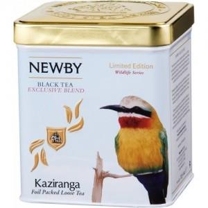 Чай черный листовой Newby Казиранга 125г ж/б