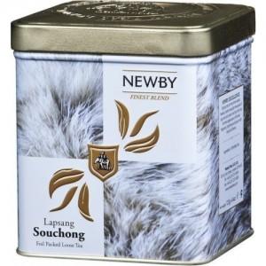 Чай черный листовой Newby Лапсанг Сушонг Сафари 125г ж/б