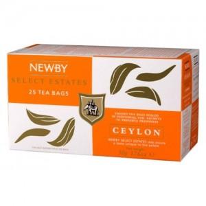 Чай черный пакетированный Newby Цейлон 25х2,5г