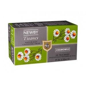 Чай травяной пакетированный Newby Цветы Ромашки 25x1.5г