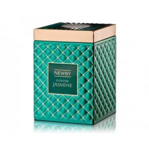 Чай зеленый Newby Supreme Jasmine 100г ж/б