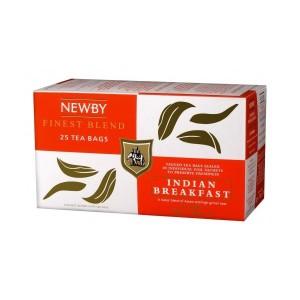 Чай черный пакетированный Newby Индийский завтрак 25х2,5г