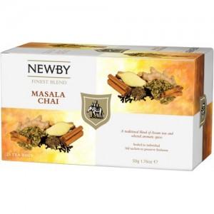 Чай черный пакетированный Newby Масала 25х2,5г