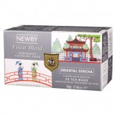 Чай зеленый пакетированный Newby Восточная Сенча 25х2,5г