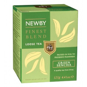 Чай зеленый листовой Newby Сенча 100г