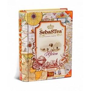 Чай черный листовой SebasTea Книги Africa ж/б 100г